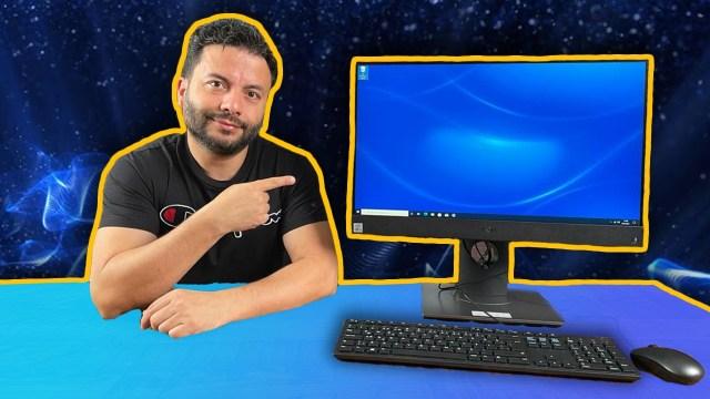 İçinde kasa olan monitör Dell OptiPlex 5480 inceleme!