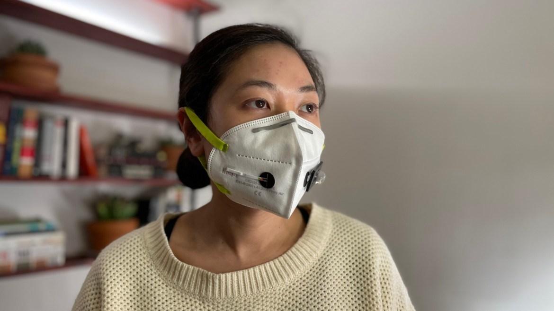 Covid-19'u tespit eden yüz maskesi