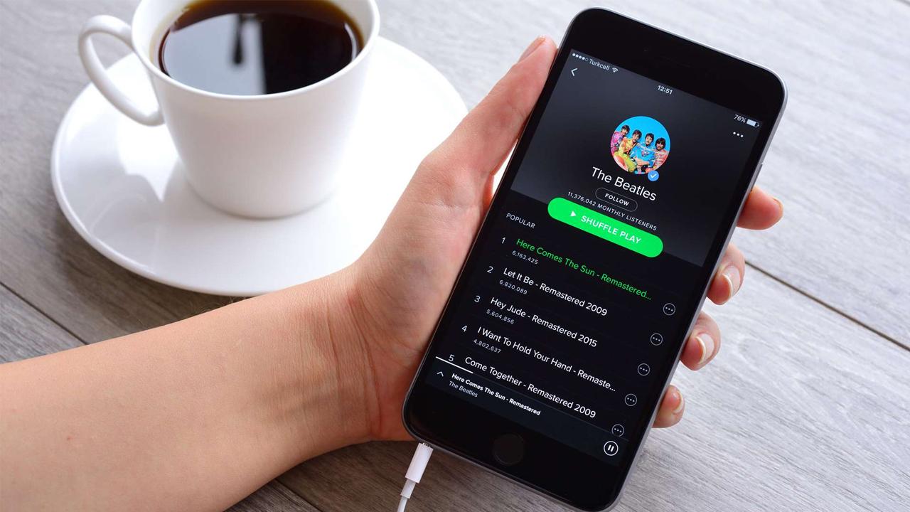 Spotify en çok dinlenen şarkılar