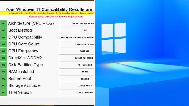 Neden Windows 11 kuramıyorsunuz? İşte yeni yöntem