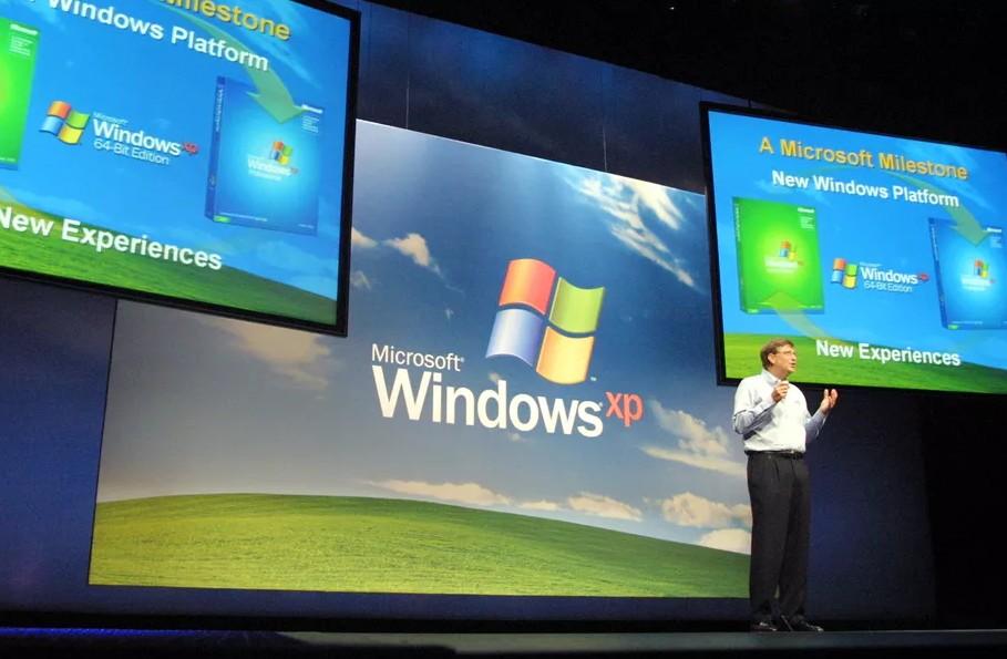 Windows XP tarihi