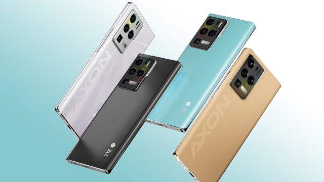 Ekran altı kameralı ZTE Axon 30, yeni görüntüsüyle karşımızda