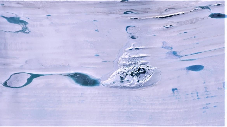 Antarktika'da göl kayboldu