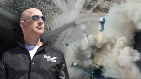 Dünyanın en zengin insanı Jeff Bezos uzaya çıktı!