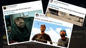 Evde Kal Türkiye bildirimine sosyal medyadan gelen tepkiler