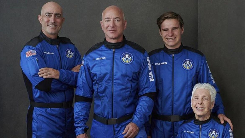 Bezos, uzay yolculuğu