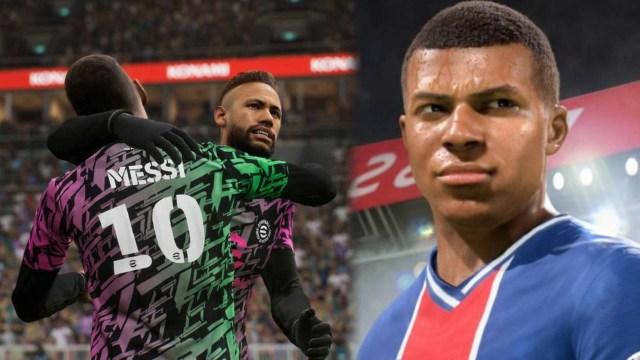 FIFA 22 vs eFootball – Trailer and preview comparison