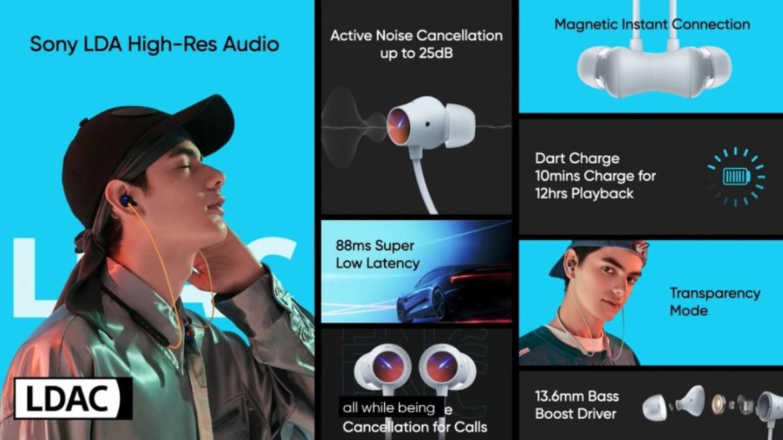 Realme Buds Wireless 2 kulaklık özellikleri