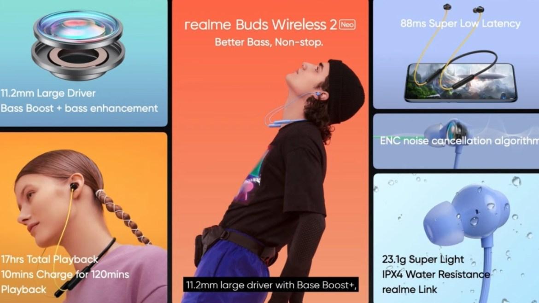 Realme Budds Wireless 2 Neo