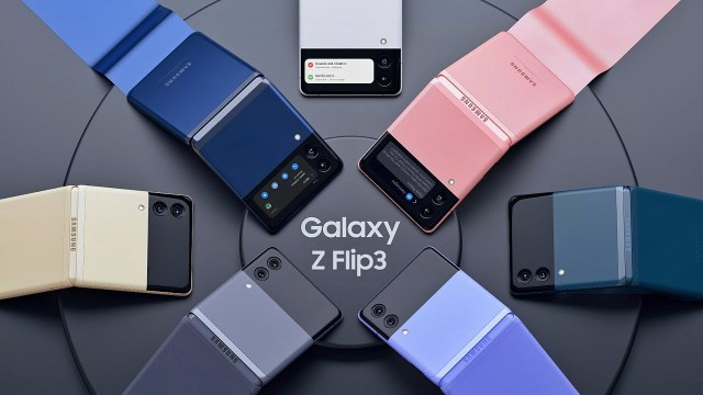 Images of Samsung Galaxy Z Flip 3 leaked to the press