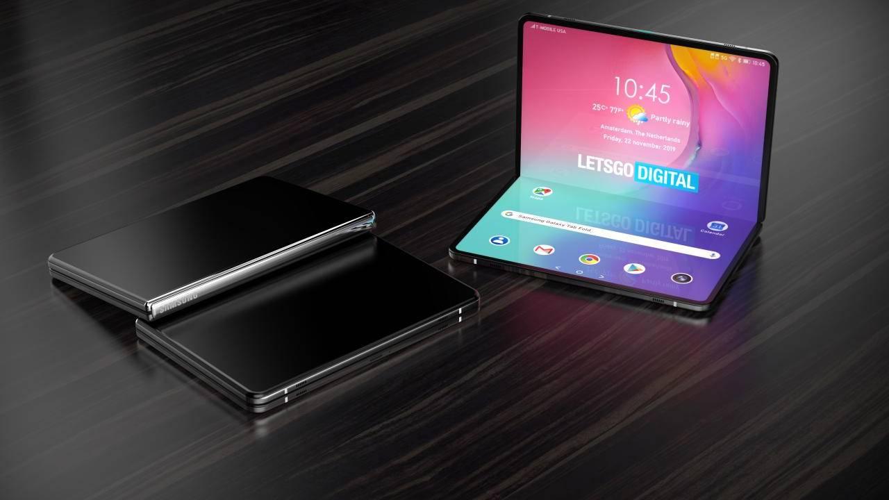 Samsung katlanabilir tablet