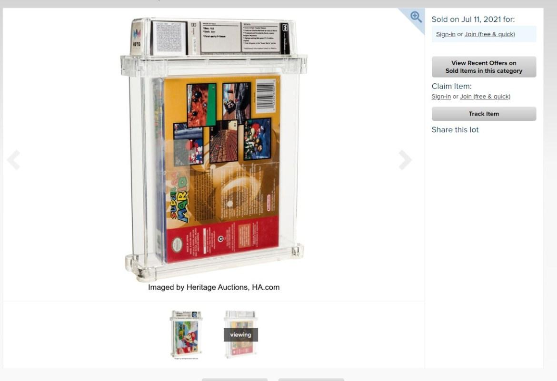 Super Mario 64, NFT olarak satışa sunuldu
