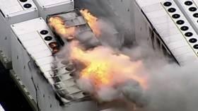 13 tonluk Tesla bataryasında korkutan yangın