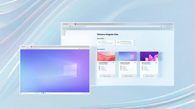 Microsoft, bulutta işletim sistemi Windows 365'i duyurdu