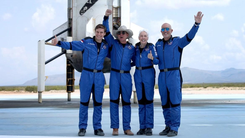 Blue Origin uzay yolculuğu