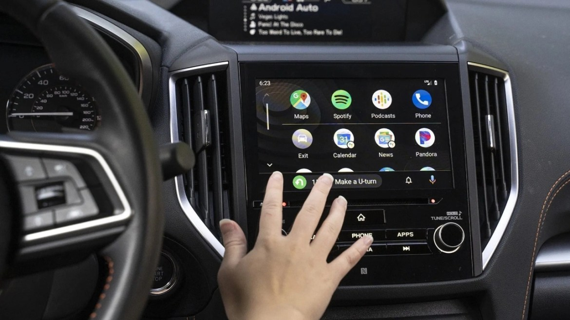 Android Auto mobil