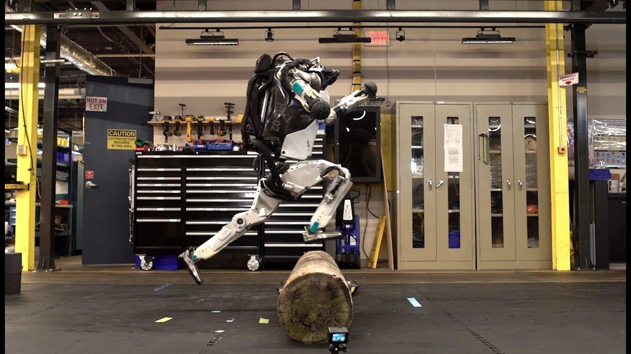 Boston Dynamics robotu Atlas