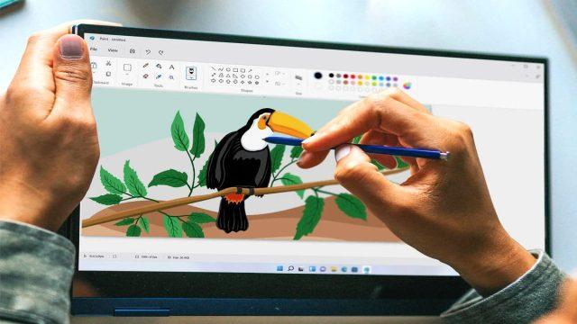 Windows 11'in Paint'i yenilenen tasarımıyla resmen tanıtıldı!