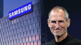 Samsung, Apple kurucusu Steve Jobs'u tiye aldı
