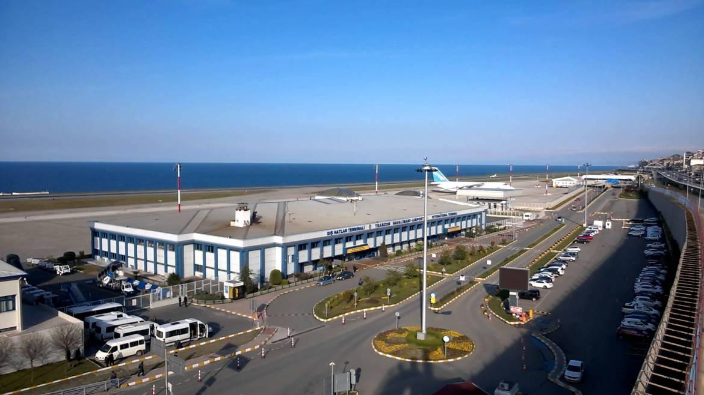 Trabzon Havalimanı uçuşları iptal oldu