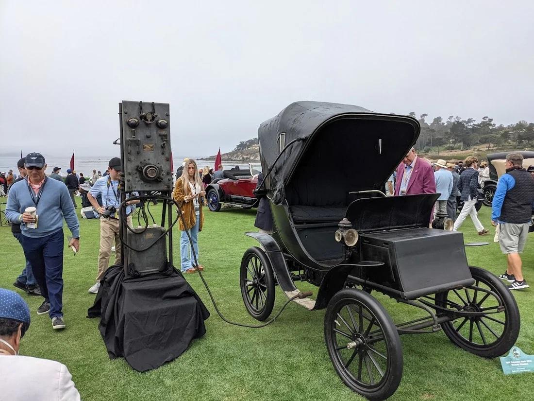 1901 Columbia Mark XXXI Victoria Phaeton elektrikli araç
