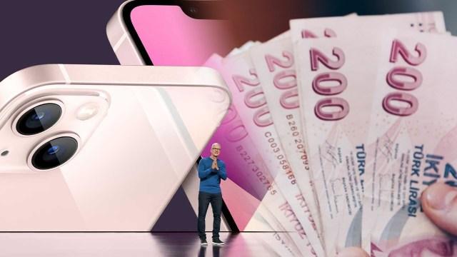 iPhone 13 Türkiye fiyatları açıklandı: İşte 1 TB!