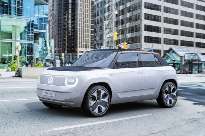 Volkswagen unveils concept portable electric car 13
