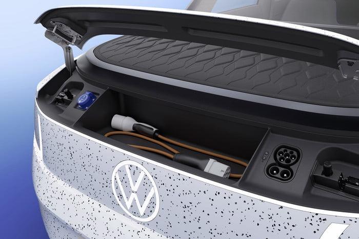 Volkswagen unveils concept portable electric car 12