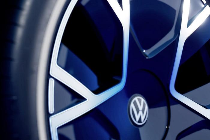 Volkswagen unveils concept portable electric car 11
