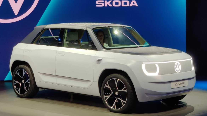 Volkswagen unveils concept portable electric car 3