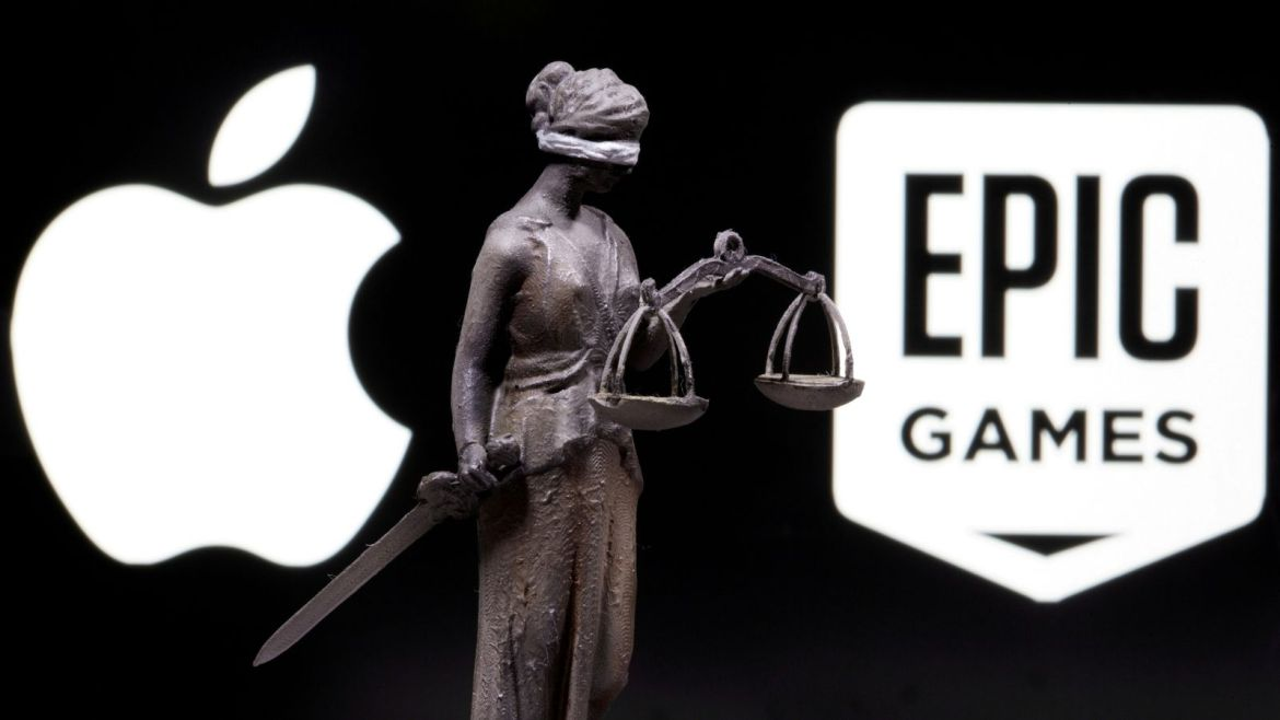 Epic Games appealed the court's decision in the Apple lawsuit.