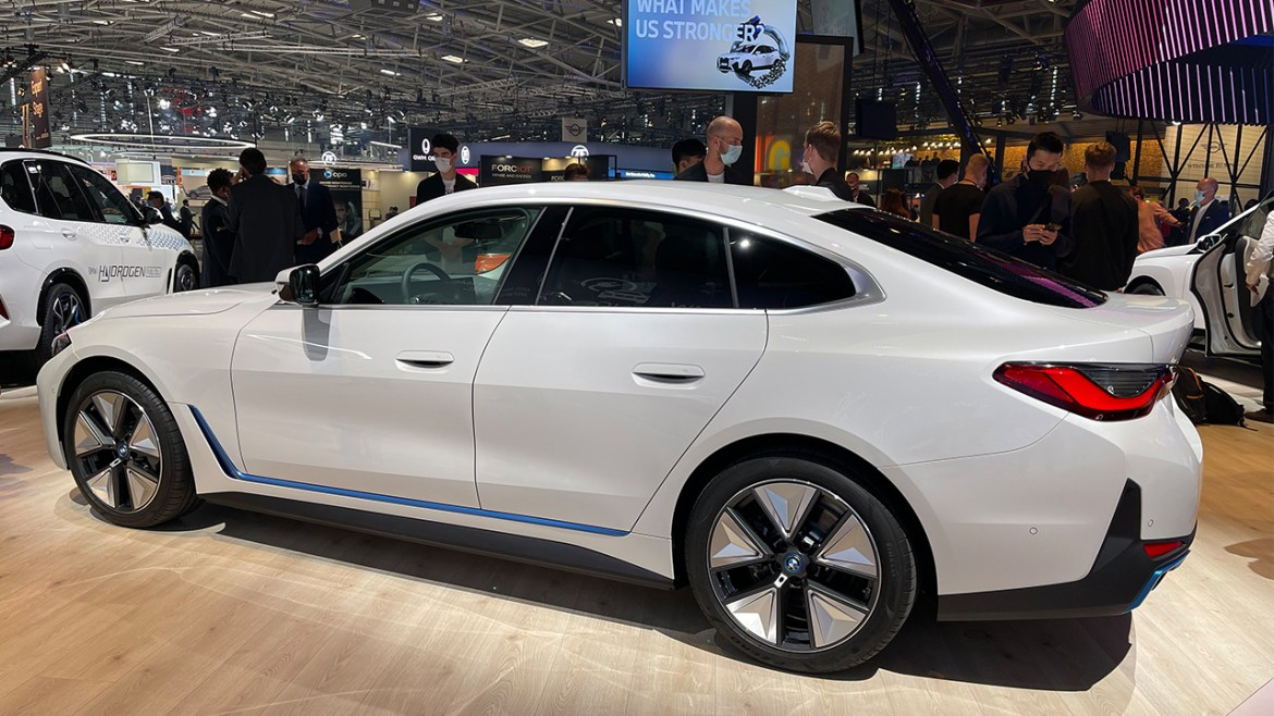At IAA Mobility 2021 with BMW electric vehicles! 4