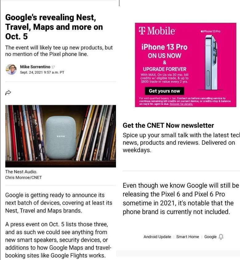 Google Ekim ayında yeni bir etkinlik düzenleyecek.