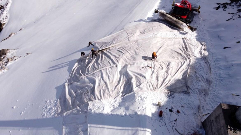 İsviçre buzullar