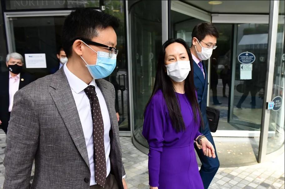Huawei CFO'su bugün ABD yargısının önüne çıktı.