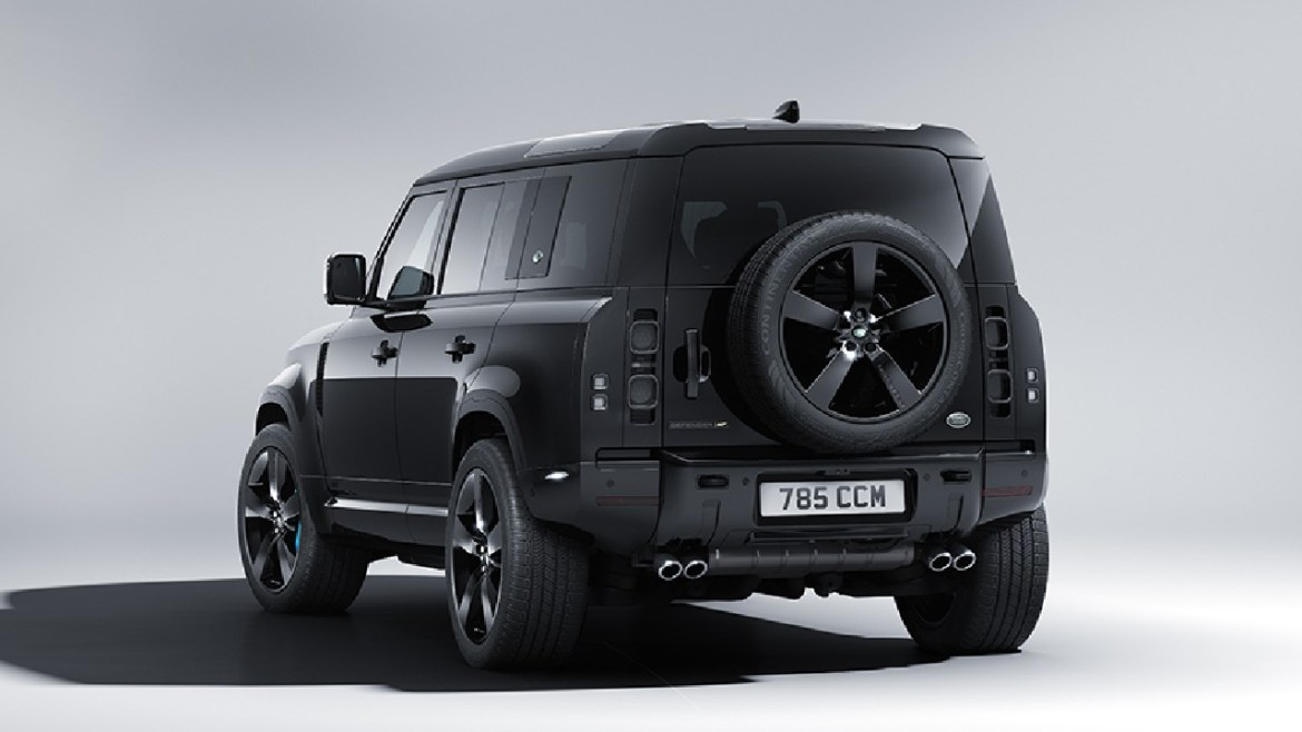 Land Rover Defender 007 introduced: Here is James Bond's new vehicle! 4