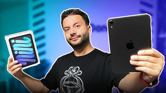 Yeni iPad mini kutusundan çıkıyor!