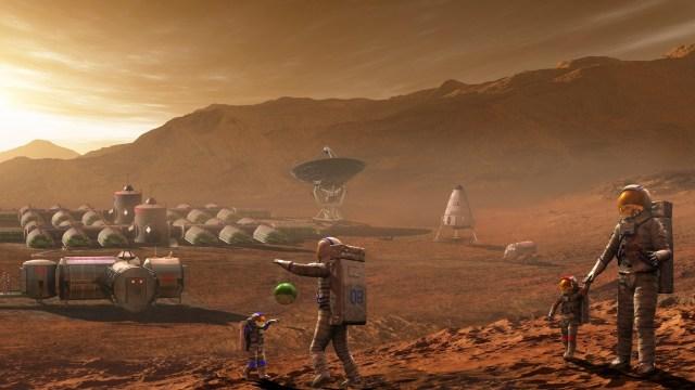NASA'nın Mars kolonisi çalışmaları