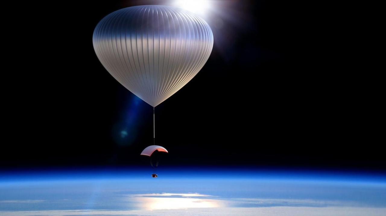 Uzay turizmi için yeni seçenek stratosfere balon seyahati