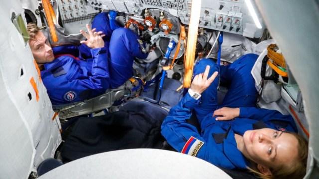 Uzayda çekilecek ilk film konusu