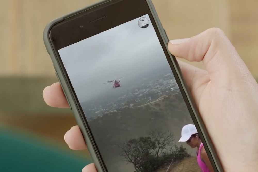 histórias do Snapchat