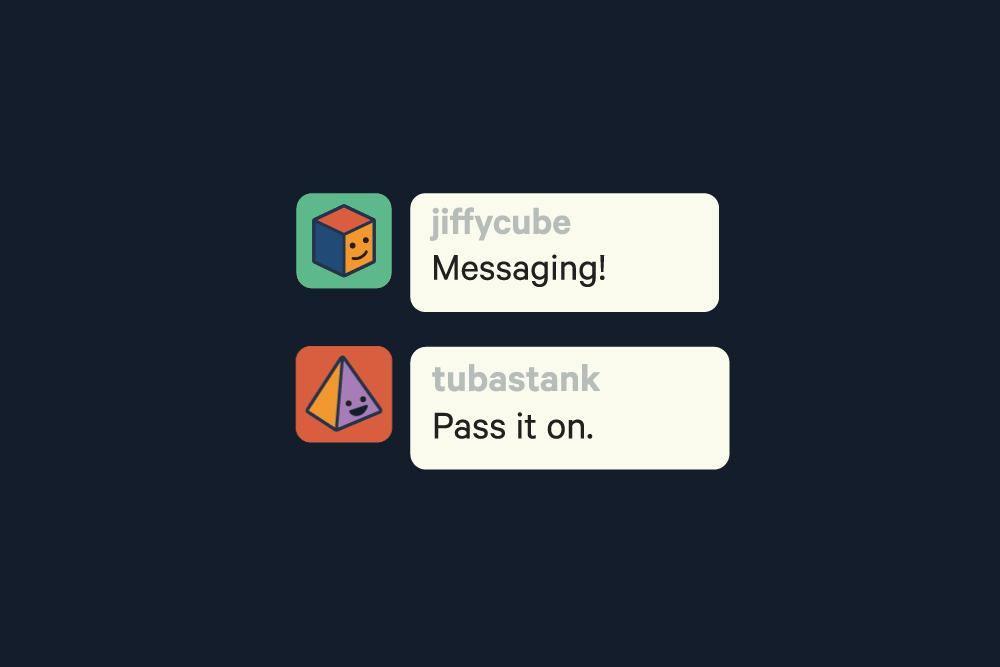 mensagens privadas