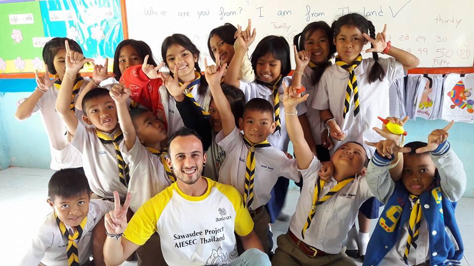 voluntariado na Tailândia