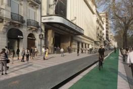 Lateral da Avenida da Liberdade