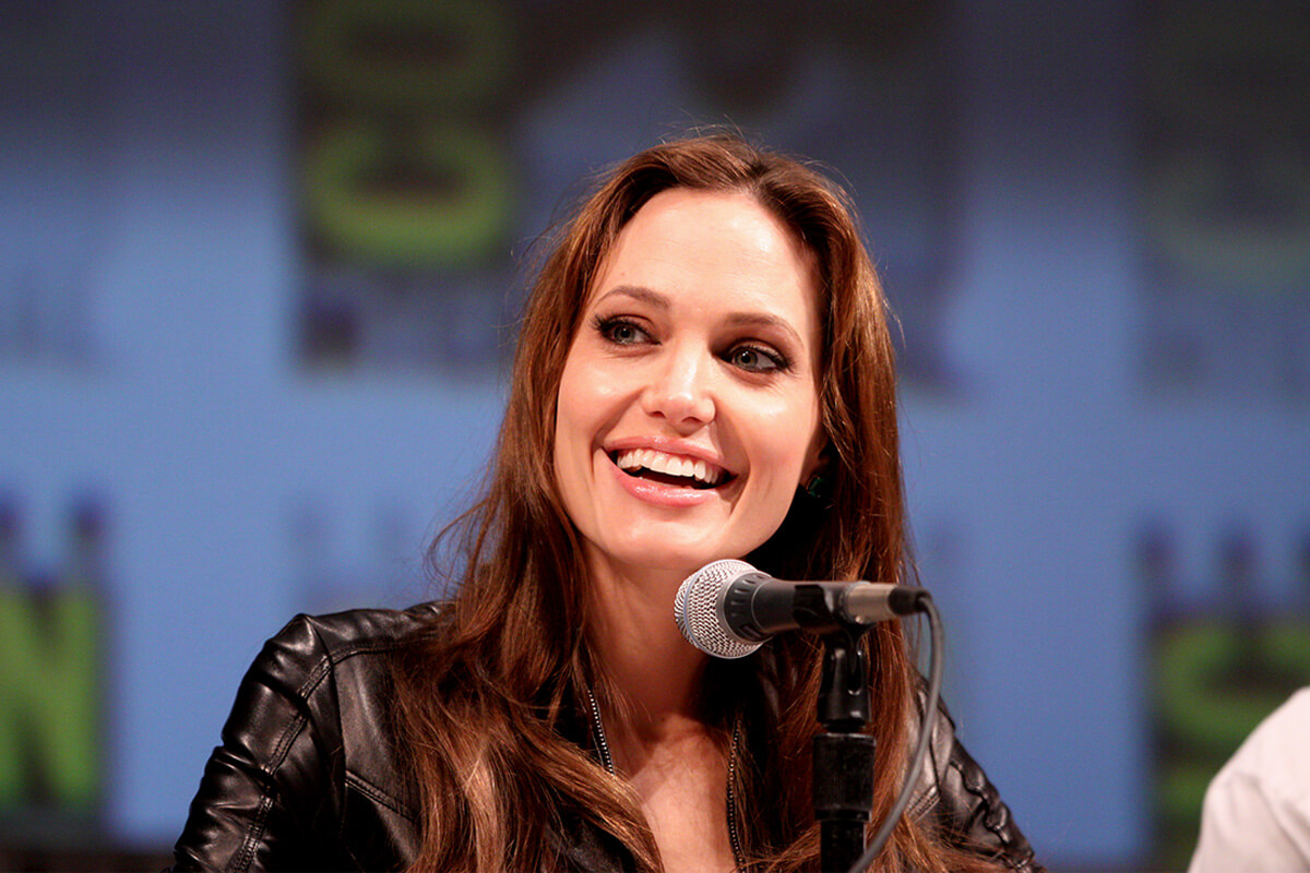 Angelina Jolie is one of the top women in Hollywood