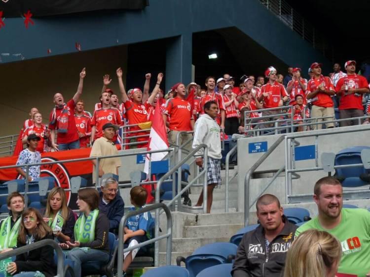 Toronto FC fans