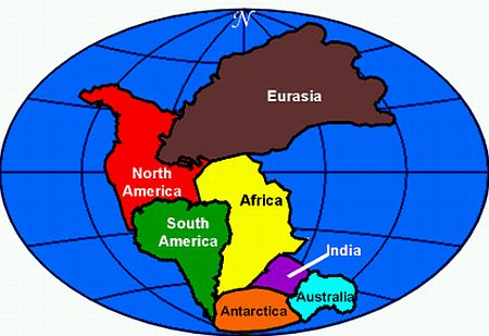 Approximately 255 million years ago (MYA) the earth hade one surface land mass, a singular super continent called Pangea.