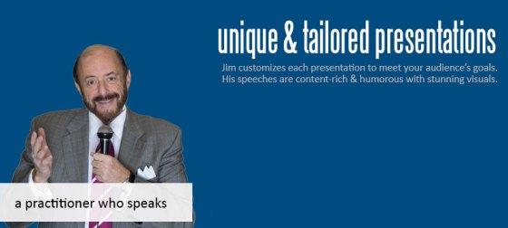 Keynote speaker and consultant Jim Feldman