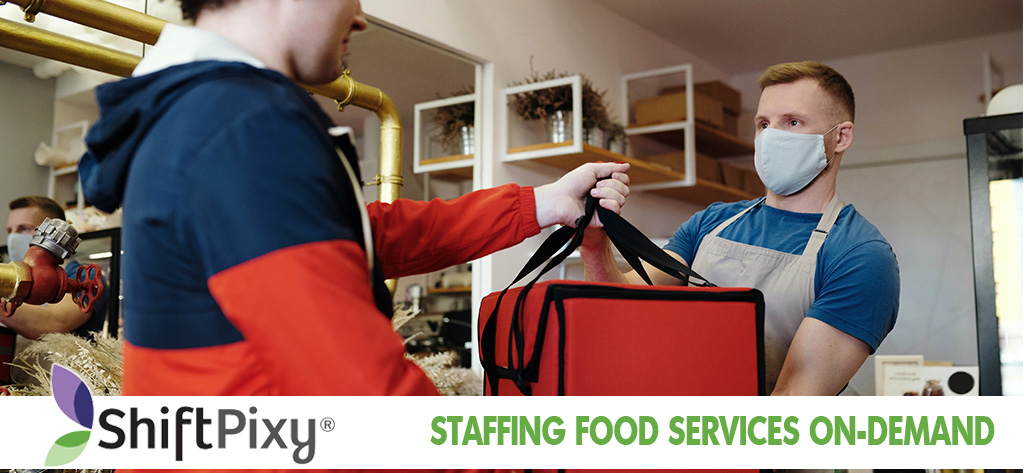 Get Food Service Staffing Via On-demand Hiring App
