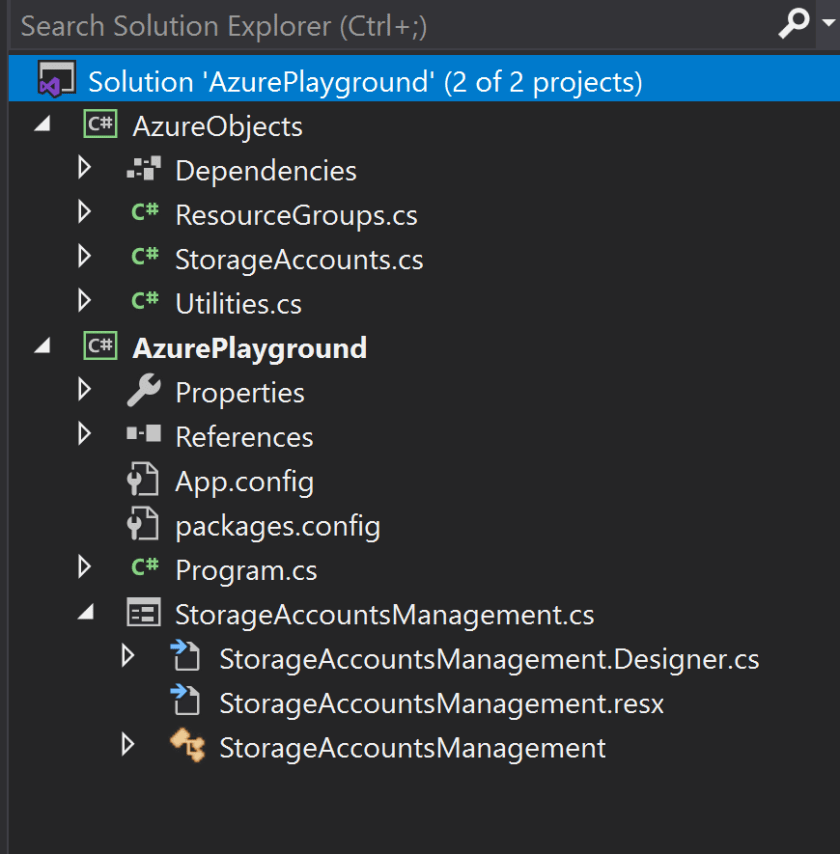 Programming Azure – A Journey toward configuring a DevSecOps ecosystem using Visual Studio and C#